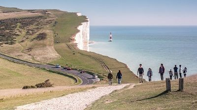 South Downs Way Walks - the Seven Sisters near Eastbourne